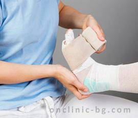 Лечение на незарастващи рани на краката